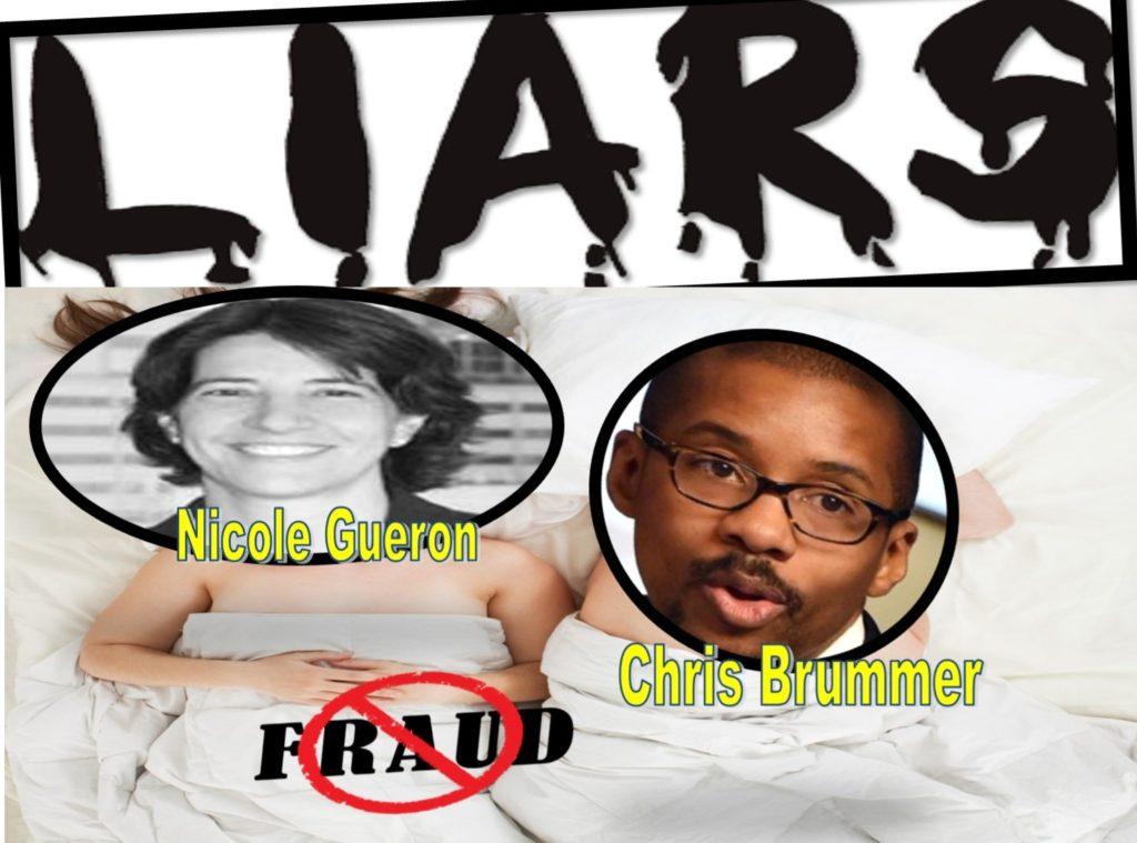 Nicole Gueron, New York Loser Lawyer Muzzles Press Freedom, Sponsors Racism